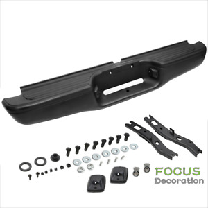 New Complete Rear Steel Step Bumper Assembly For 1995 2004 Toyota Tacoma Truck