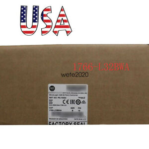 Allen bradley Iccg 1766 l32bwa Micrologix 1400 32pt Controller Usa New Date Ups