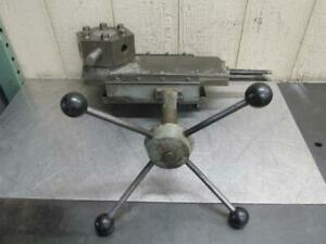 Clausing 14 Lathe Model 6349 Turret Attachment 6 Station Tool Holder Tailstock