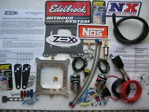The Destroyer new Hbr zex Holley 4150 Perimeter Pro Nitrous Plate Kit 50 250hp