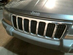 Grille Chrome Fits 99 03 Grand Cherokee 527521