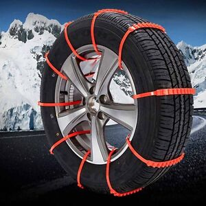 10pcs Car Truck Anti skid Chains For Snow Mud Wheel Tyre Tire Ties Cable Hot