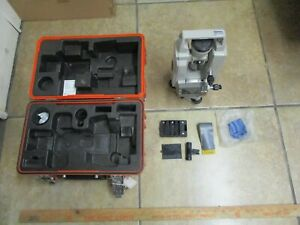 Sokkisha Lietz Dt5 Theodolite Dt5 dt5s With Case used sold As Is