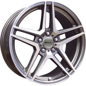 4 17x7 5 Gray Wheel Rtx Oe Replica Stern Mercedes Replica 5x112 43