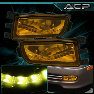 Fog Lights For 1998 2004 Lexus Gs300 Gs400 Gs430 Aristo Vip Style Yellow Glass