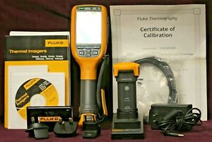 Fluke Ti125 30hz Industrial Infrared Camera Thermal Imager W cases