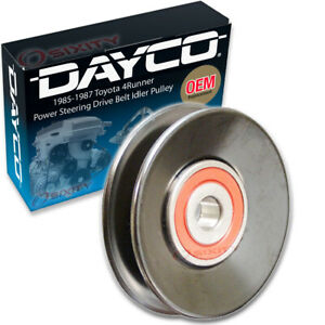 Dayco Power Steering Drive Belt Idler Pulley For 1985 1987 Toyota 4runner Ju