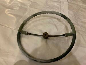 1959 Cadillac Steering Wheel Two 2 Spoke Coupe Convertible