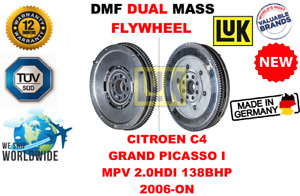 For Citroen C4 Grand Picasso I Mpv 2 0hdi 138 2006 on New Dual Mass Dmf Flywheel