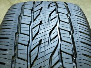 Continental Crosscontact Lx20 Ecoplus 255 65r18 111s Used Tire 9 10 32