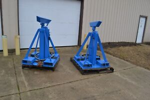 Portable Hydraulic Gantry Stands 5000 Psi Lifting Tripod Jack