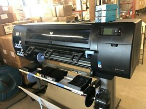 Hp Designjet Z6200 42 Wide Large Format Production Photo Printer With Extra Ink