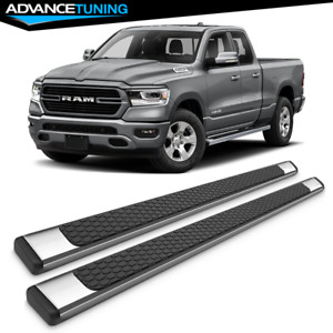 Fits 19 Dodge Ram 1500 Quad Cab Oe Style Ss Side Rails Running Boards