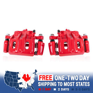 For Acura Tl Honda Ridgeline Front Red Powder Coated Performance Brake Calipers