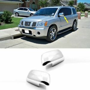 Fit 2005 2007 2008 2009 2010 2011 2012 Nissan Pathfinder Chrome Mirror Cover