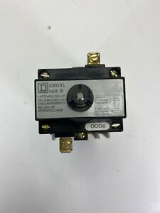 Square D 8501x060xl Industrial Control Relay With 8501xl Latching Relay