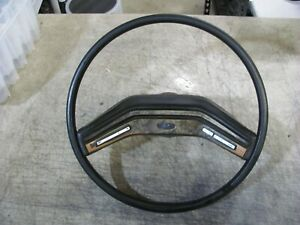 Ford Truck Steering Wheel With Controls 1980 1986 Ford Bronco F150 F250 350 Oem