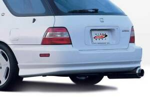 Vis W Type Rear Lip For 96 97 Honda Accord Wagon 890316