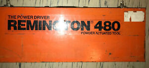 Remington 480 Power Actuated Ramset