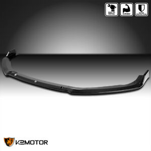 For 2018 2020 Honda Accord Glossy Black Front Bumper Lip Spoiler Splitter 3pc