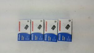 48 Pack Lot Small Binder Clips 3 4 19mm Black