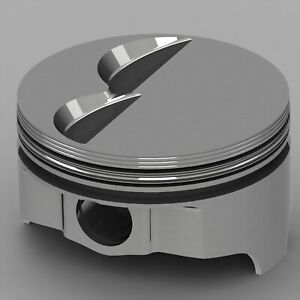 Icon Forged Piston Set Fits Ford 302 Rod 5 400 Flat Top 4 8cc 2v