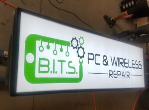 Outdoor Led Light Box Sign 24 X 72 X 4