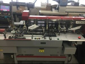 Mailcrafter 9800 Edge Series 6 X 9 10 Turnover Inserter With 4 Stations