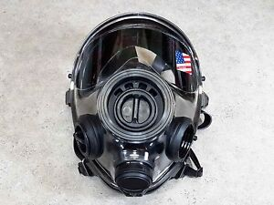Sge 400 3 Gas Mask 40mm Respirator Cbrn Nbc Protection new Made In 2021