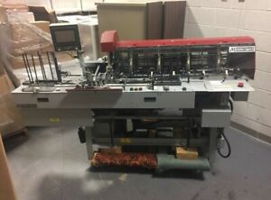 Mailcrafter 9800 Edge Series 6 X 9 10 Stacker Inserter With 4 Stations