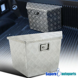 28 x 9 X16 5 Heavy Duty Aluminum Pickup Truck Tool Box Storage Trailer W Lock