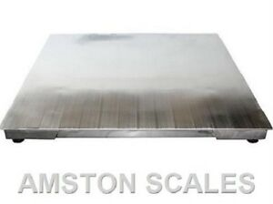 5000 Lb 4 Ft Digital Shipping Warehouse Scale With Indicator Display Ntep New