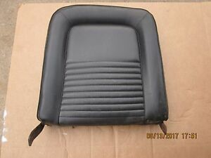 1965 Ford Mustang Bucket Seat Back Portion