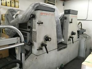 2 Color Komori Sprint 26p Under Power Can Be Tested