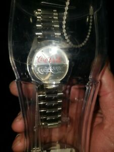 Coca Cola Watch In A Plastic Bank Glass I do believe that this is the one & only