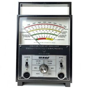 Vintage Rac Ignition Tune Up Analyzer For 4 6 Or 8 Cylinder Engines W manual