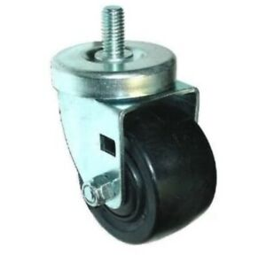 Pack Of 4 Low Profile 1 2 13x1 Threaded Stem Caster