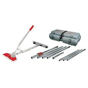 Carpet Stretchers Value Kit Tool Junior Power W case 38 Ft Stretching Length