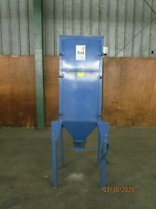 Donaldson Torit 75 h Cabinet Dust Collector 1hp 230 460v 3ph 3600rpm