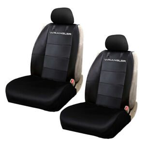 New Jeep Wrangler Rugged Neoprene Car Truck Suv 2 Front Seat Covers Set