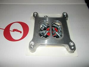 Offy Offenhauser Spacer Carb Plates For Holley Dual Quads 5880