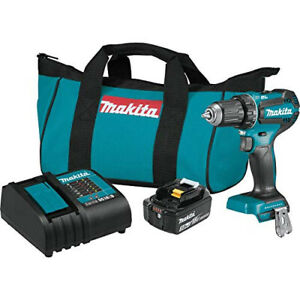 Makita 18v Brushless Drill Driver Xfd131 Rechargeable Power Tool Cordless Set