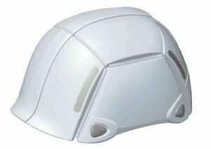 White Foldable Safety Hard Hat Disaster Prevention Folding Helmet