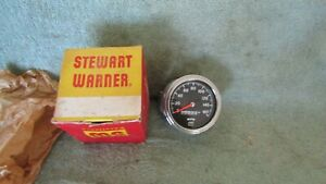 Nos Vintage Stewart Warner 160 Mph Speedometer 550bpr7 Near Mint In Org Box