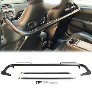 49 Stainless Steel Racing Safety Seat Belt Chassis Roll Harness Bar Kit Rod