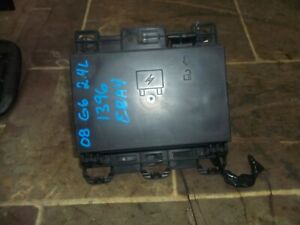 2008 Pontiac G6 2 4l Engine Compartment Fuse Relay Box Block Assembly Under Hood