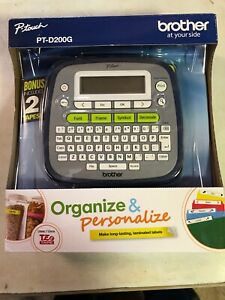 Pt d200g Easy To Use Brother P touch Label Maker