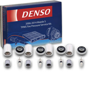4 Pc Denso Tpms Tire Pressure Service Kit For Mazda 5 2006 2014 Monitoring Uo