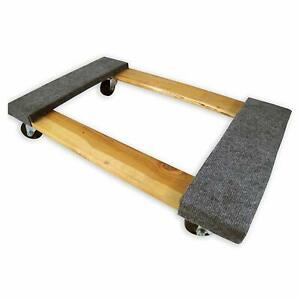 Furniture Dolly 1000 Lb Heavy Duty Rolling Hand Truck Wheeled For Moving Items