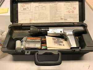 Remington 491 Powder Actuated Fastening Tool With Case